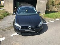 2011 vw golf 1.6 tdi blue motion for parts only