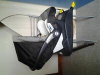 M&P Primo Viaggio I.P. car seat with isofix base