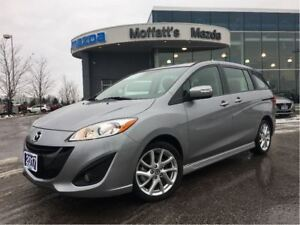 2017 Mazda MAZDA5 GT LEATHER. SUNROOF, HEATED SEATS, BLUETOOTH