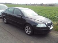 2006 Skoda Octavia 2.0 TDI hatchback black BREAKING FOR PARTS SPARES