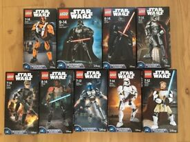 Lego Star Wars - set of figures Darth Vader obi wan kenobi