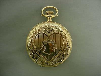 Elgin 14k Yellow Gold Vintage Hunting Case Pocket Watch