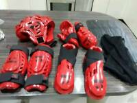 Warrior Kick boxing kit