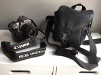 Canon 350d DSLR plus three lenses