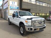 2012 Ford F-250 XLT Extended Cab Long Box 4X4 Natural Gas CNG Du