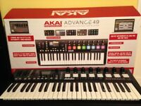 Akai Advance Professional 49 Keyboard - BOXED as NEW - Perfect Condition