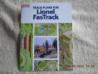 108804 Track Plans For Lionel FasTrack Book Brand New  ()
