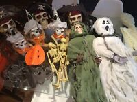 bundle of Halloween decorations for party