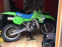 KX 500 1989 motor bike