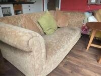 Two sofas.