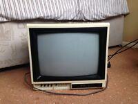 Retro 90s Sharp Colour TV & Philips Aerial (FREE)