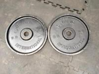 Olympic Weights 40kg - 2 x 20kg