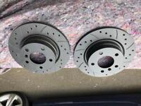 BMW E90 rear brake discs