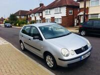VW POLO AUTOMATIC 5 DOOR 1.4 ENGINE not golf Corsa fiesta Astra or micra