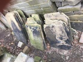 Yorkshire stone roof tiles