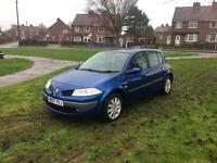 2007 Renault megane 1.4 expression in top spec twin panoramic roof air con