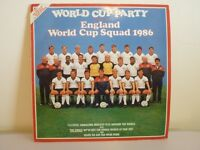 """England world cup squad 1986 - we've got the whole world at our feet 7"""" vinyl record"""