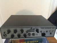 Aguilar TH500 bass amp & carry case