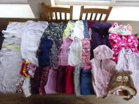 Large bundle of girls clothes, aged 2-3, variety of items. Whole lot for £10