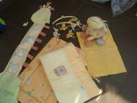 Mamas & Papas Nursery Jenny Giraffe Set