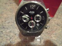LARGE FACE - MEN'S - JEEP - WATCH, In Good Working Order