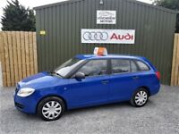 2010 SKODA FABIA ESTATE, 1.4 TDI, £30 PER YEAR TAX, TWO OWNERS, TWO KEYS, SERVICE HISTORY