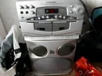 Cinema system Karoke machine and coffee machine