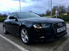 Audi A4 SE TECHNIK 2012 - 2.0 Diesel - SAT NAV - HEATED LEATHER - PARK SENSORS - swap bmw Mercedes?