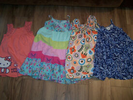 Bundle of clothes for girl, size 5-6