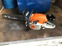 Stihl ms261c chainsaw