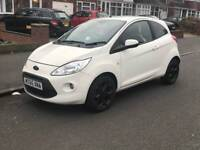 FORD KA ZETEC WHITE EDITION 1.2 HPI CLEAR £30 ROAD TAX