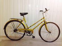 Such City bike in BEAUTIFUL original Vintage Condition Hub gears