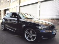 BMW 1 SERIES 2008 2.0 120d M Sport AUTOMATIC, 5 door 2 OWNERS, LOW MILES, BARGAIN
