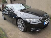BMW 3 SERIES 3.0 330d M SPORT AUTO, MOT 28/09/2018,WARRANTIED,SERVICED & AA (black) 2011