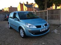 RENAULT MEGANE SCENIC 1.6 VVT DYNAMIQUE AUTO [EURO 4] , FULL SERVICE HISTORY, DRIVES WELL, AUTOMATIC
