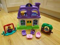 Fisher Price Little People Happy Sounds House & Swings