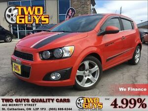 2012 Chevrolet Sonic LT MOON ROOF MAGS RACING STRIPES