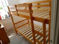 Melissa pine bunk bed with free assembly service and delivery