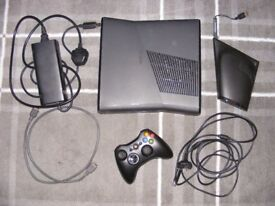 Xbox 360 250GB, controller and Nyko intercooler