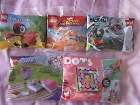 lego promo sets x 6 new