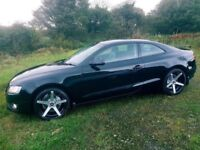audi a5 2.0 tdi coupe f\s\h mint car black edition style