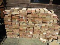 200 reclaimed bricks (clean)