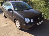 VW POLO 3DR 1 OWNER, LOW MILEAGE, CD PLAYER, AIR CON