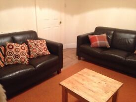 Single room £190 & double room £260 a month all bills inc - friendly relaxed house :)