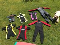 Wetsuits buy all or just one