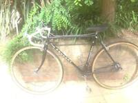 Vintage Peugeot road racing touring city town bike - small frame size
