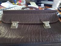 Retro Leather Document case