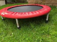 Exercise trampoline