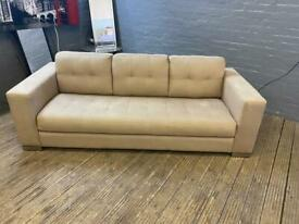 DESIGNER BHS FABRIC SOFA IN NICE CONDITION £199 FREE DELIVERY