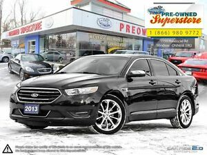 2013 Ford Taurus Limited AWD with heated steering wheel!